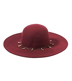 Collection 18 Tassel Chain Floppy Hat