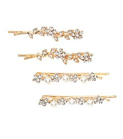 Twig & Arrow Accessories 4-Pack Bobbie Pins