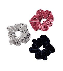 Twig & Arrow Accessories 3 Pack Velvet Scrunchies