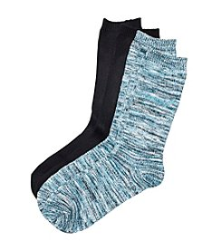 Relativity 2-Pack Spacedye Crew Socks