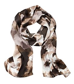 Collection 18 Day Trip Floral Oblong Scarf
