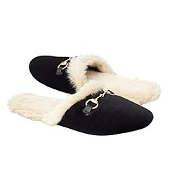 Collection 18 Faux Fur Mule Slides