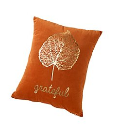 14x18 Grateful Leaf Decorative Pillow