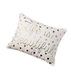 Life Is Beautiful Decorative Pillow