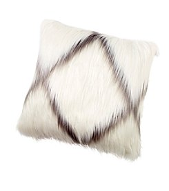 Mongolian Faux Fur Decorative Pillow