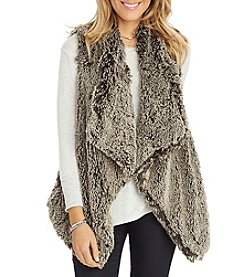 Democracy Faux Fur Vest