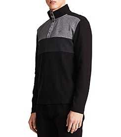 Calvin Klein Men's Colorblocked Buttoned Pullover