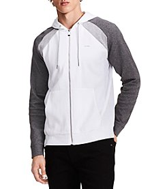 Calvin Klein Men's Colorblocked Hooded Jacket