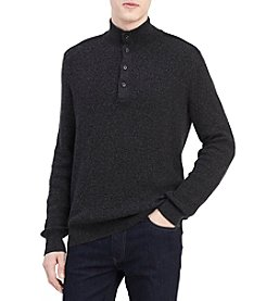 Calvin Klein Men's Textured Pullover Sweater