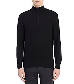 Calvin Klein Men's Cotton Whelk Stitch Pullover