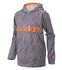 adidas® Boys' 2T-7X Long Sleeve Helix Vibe Pullover Hoodie