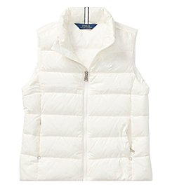 Polo Ralph Lauren Girls' 2T-16 Quilted Down Vest