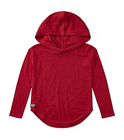 Polo Ralph Lauren Girls' 2T-16 Long Sleeve Hooded Tee