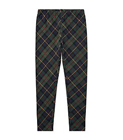 Polo Ralph Lauren Girls' 2T-16 Plaid Leggings
