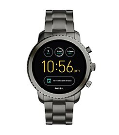 Fossil Gen 2 Smartwatch - Q Marshal Smoke Stainless Steel