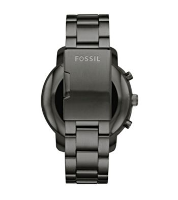 Fossil Gen 2 Smarch Q Marshal Smoke Stainless Steel