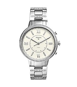 Fossil Women's Stainless Steel Virginia Hybrid Smart Watch