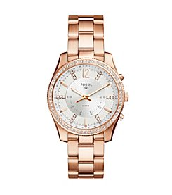 Fossil Rose Goldtone Bracelet Watch