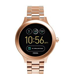 Fossil Men's Gen 3 Q Venture Rose Goldtone Stainless Steel Smart Watch