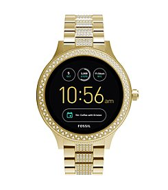 Fossil Men's Gen 3 Smartwatch Q Venture Goldtone Stainless Steel