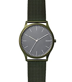 Skagen Men's Olive Green Jorn Watch