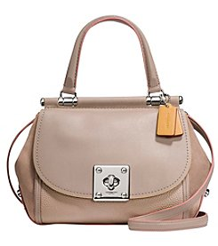 COACH DRIFTER TOP HANDLE CARRYALL IN MIXED LEATHER