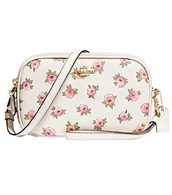 COACH CROSSBODY CLUTCH IN FLOWER PATCH PRINT COATED CANVAS