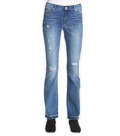 Ruff Hewn Double Hem Destructed Jeans