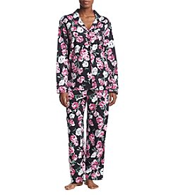 KN Karen Neuburger Top And Pajama Pants Set