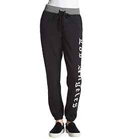 Juicy Couture Track Knit Black Gothic Sweatpants