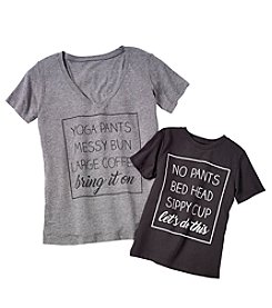 Doe Yoga Pants Mom / No Pants Toddler Screen Tees