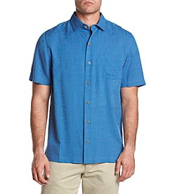 Paradise Collection Men's Solid Geo Button Down