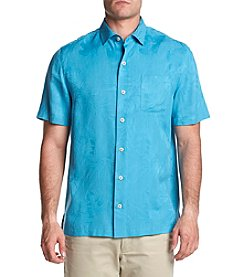 Paradise Collection Men's Solid Botanical Button Down