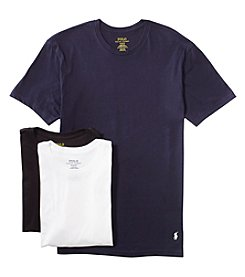 Polo Ralph Lauren Men's 3-Pack Cotton Crew Neck Tee