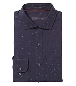 Tommy Hilfiger Men's Dot Spread Dress Shirt