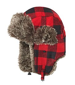 John Bartlett Statements Buffalo Check Trapper Hat