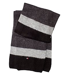 Tommy Hilfiger Brushed Colorblocked Scarf