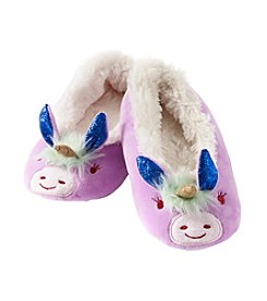 PJ Couture Girls' Unicorn Slippers