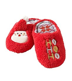 PJ Couture Girls' Santa Ho Ho Ho Slippers