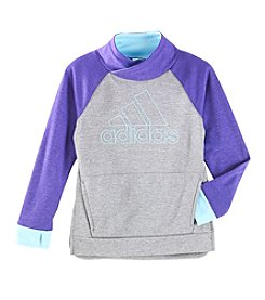 adidas Girls' 8-16 Pull Me Over Sweatshirt