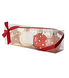 Tricoastal 4 Piece Holiday Bath And Body Ornament Set