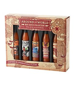 Roadhouse Around The World 5 Piece Hot Sauce Set