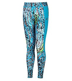 adidas® Girls' 4-16 Cheetah Print Leggings