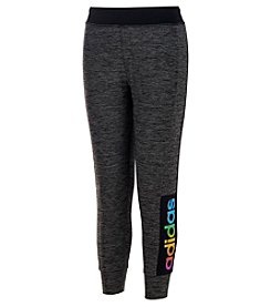 adidas® Girls' 8-14 Space Dyed Melange Jogger Pants