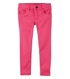 Carter's Girls' 2T-4T Woven Jeggings