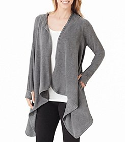Cuddl Duds® Fleecewear with Stretch Hooded Wrap