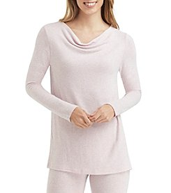 Cuddl Duds® SoftKnit Cowl Neck Top