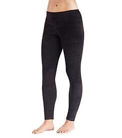 Cuddl Duds® Double Plush Velour Leggings
