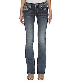 Vigoss Dark Stone Wash Boot Cut Jeans