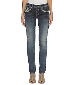 Vigoss Heavy Stitch Pocket Skinny Jeans